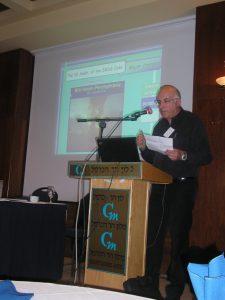 מוטי פרייברג מרצה על עדכוני IMDG Code